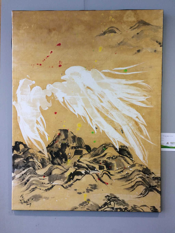 Jung Won Lim prof. Encre et aquarelle orientale