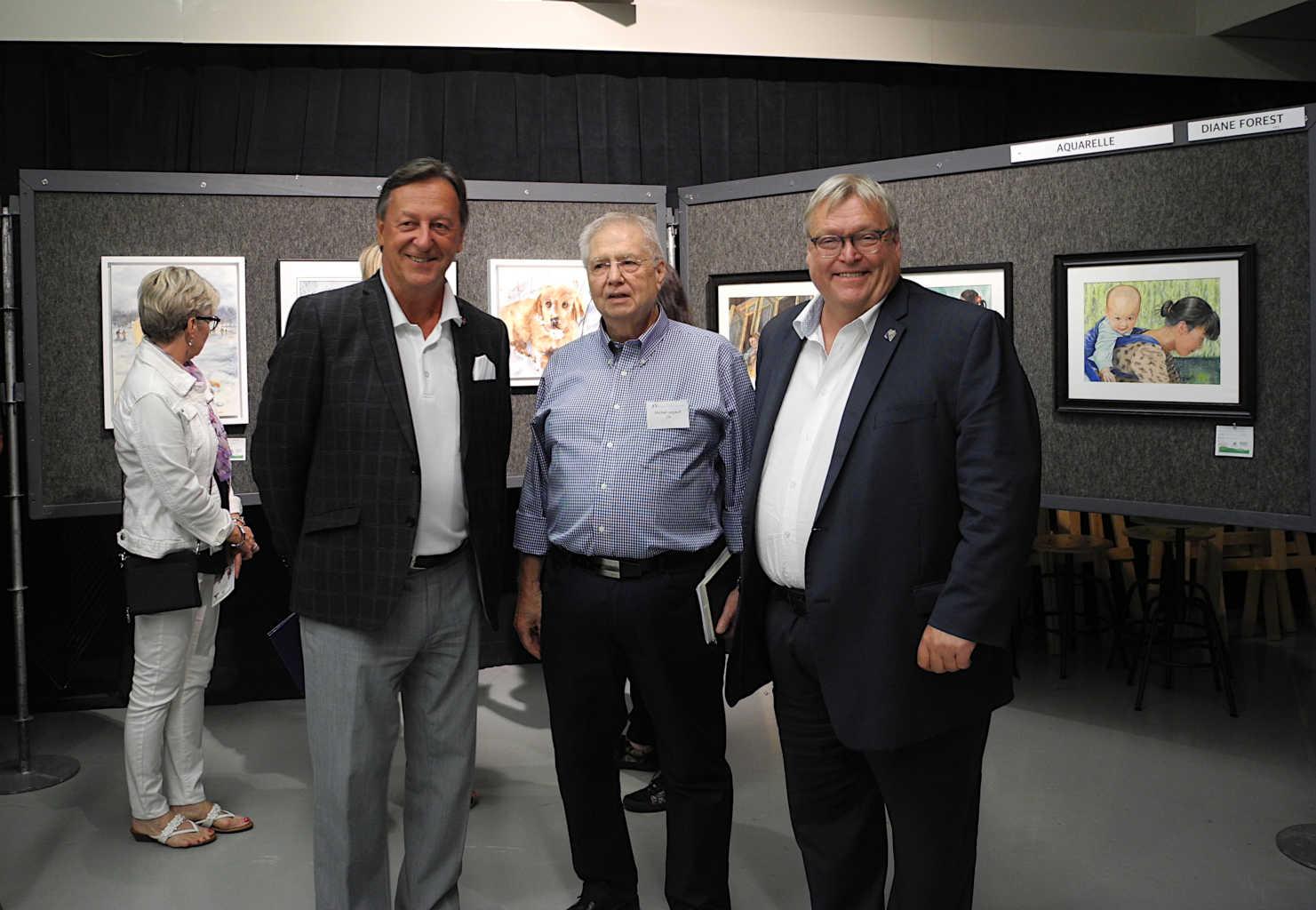 Pierre Brodeur, Michel Legault, Gaétan Barrette