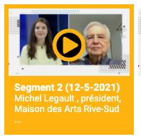 Michel Legault à TVRS