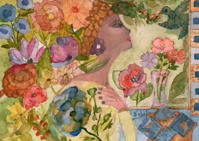 1er prix - Gaia, la Terre Mère par Sonia Tabet